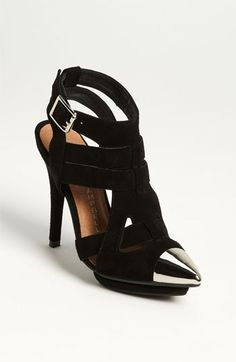 Jeffrey Campbell 'Don't Even' Pump available at Nordstrom    Real kick ass shoes!  @Katie Fessler