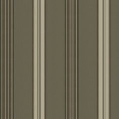 Dunston Stripe - Gunmetal - Archival English Papers - Wallcovering - Products - Ralph Lauren Home - RalphLaurenHome.com