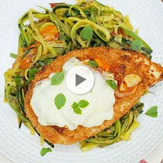 This classic dinner recipe gets a healthy makeover, including a serving of zucchini noodles rather than pasta. | Health.com