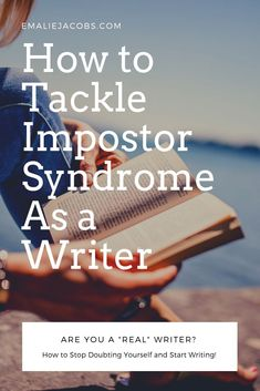 "Writers often feel like they are frauds. They think they have no right to claim status as ""writer."" Learn how to recognize Impostor Syndrome and combat it! Writing Quotes, Writing Advice, Start Writing, Blog Writing, Creative Writing, Writing A Book, Writing Prompts, Writing Workshop, Writer Tips"