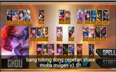 Gapmodsenki: Naruto Senki Mod Moba Mugen by Syarifad Moba Legends, Alucard Mobile Legends, Naruto Games, App Hack, Mundo Geek, Game Update, Team 7, Naruto Shippuden, Nerf