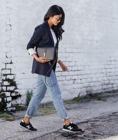 style vestimentaire avec new balance
