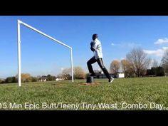 15 Min Epic Butt/Teeny Tiny Waist 'Combo Day' Workout - YouTube
