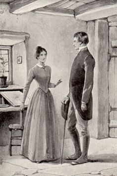 Jane Eyre E. Stuart Hardy illustration 6 'What can you mean?'