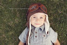 My kids Up Party. AVIATOR Pilot Hat w/ Faux Goggles Toddler by LeightonHeritage, $22.99