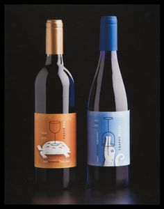 I Love humor paired with wine. I do not love snooty wine. Wine Bottle Design, Wine Label Design, Drink Labels, Wine Bottle Labels, Wine Bottles, Design Da Garrafa, Wine Logo, Nebraska, Homemade Wine