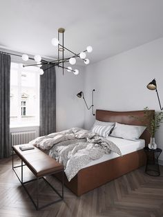 3 Homes Inspired by Different Takes on Nordic Interior Design Themes 3 Homes Inspired by Different Takes on Nordic Interior Design Themes Interior Design Themes, Scandinavian Interior Design, Nordic Design, Home Interior, Interior Styling, Nordic Bedroom, Scandinavian Bedroom, Plywood Furniture, Geometric Decor