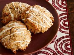 Essentially a single-serving quick bread, scones are lightly sweetened treats that call on baking powder as a leavening agent.