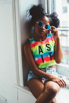 A fashion look from August 2016 featuring round sunglasses and lime crime lipstick. Browse and shop related looks. Grunge Outfits, Outfits Casual, Style Outfits, Summer Outfits, Cute Outfits, Afro Punk, Fashion Killa, 90s Fashion, Urban Fashion