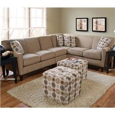 Collegedale Contemporary Sectional By England   Furniture Discount  Warehouse   Sofa Sectional Crystal Lake, Cary, Algonquin