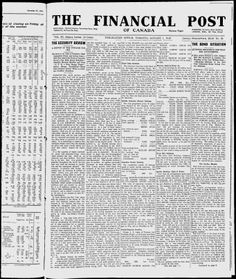 The Financial Post - Google News Archive Search