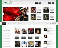MusicX online shopping music Mobile Website Template by Music Website Templates, Mobile Website Template, Web Themes, Listening To Music, Music Bands, Movie Posters, Free, Film Poster, Popcorn Posters