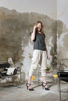 Capri Pants, Collection, Fashion, Linen Fabric, Capri Pants Outfits, Moda, Fasion, Capri Trousers