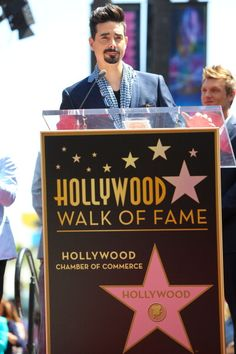 Kevin Richardson of the Backstreet Boys attends the ceremony where the Backstreet Boys are honored with a star on the Hollywood Walk Of Fame on April 22, 2013