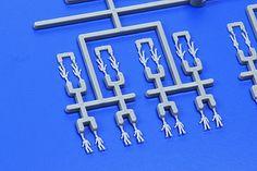 Tamiya Sailors Ship Crew Set (144) -- Plastic Model Military Figure Kit -- 1/350 Scale -- #12622