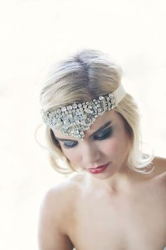 31 Elegant Art Deco Bridal Headpieces