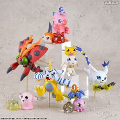 Megahouse Digimon Adventure DigiColle! DATA2 8Pack BOX #Megahouse