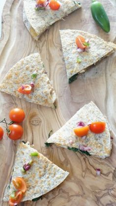 "Bring the Yum with these Chicken and Veggie Whole Wheat Quesadillas. Quick, easy, and healthy weeknight meal! This is what ""Lovetasteslike"""