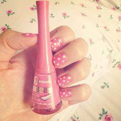 Manucure Pois vue chez Zoemacaron.fr #1seconde #nails #bourjois