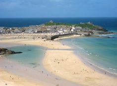 St Ives has five main beautiful beaches (plus a few others)