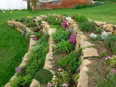 Skalničky, skalka, suchá zídka - kesyl-foto - album na Rajčeti Landscape Design, Landscaping, Layout, Gardening, Plants, Rockery Garden, Photograph Album, Page Layout, Landscape Designs