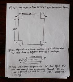 how+to+make+a+fitted+sheet | DIY Fitted Sheet instructions... But I'm using this plan to make an ...