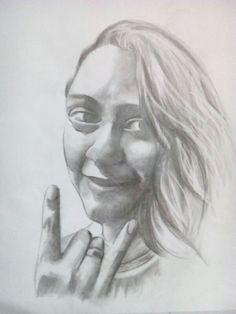Desenho feito por um amigo, o artista Aram :) obrigado por este lindo presente!