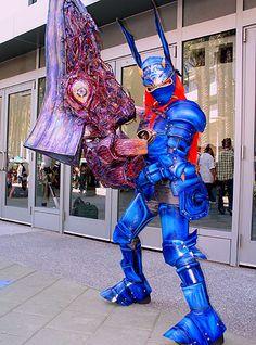 Anime Expo 2006 cosplay  Soul Calibur II - Nightmare u0026 Soul Edge via Flickr. & Soul Calibur - Nightmare... Awesome just awesome | Cosplay Drug ...