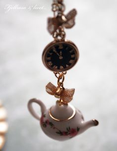 Personalized Photo Charms Compatible with Pandora Bracelets. Alice in Wonderland