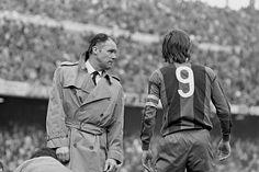 Rinus Michels y Cruyff