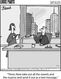 Lose the nuance. (From book humor www.thewriteteachers.com)