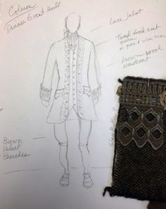 Link to Terry Dresbach's costume design blog This sketch - Colum