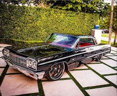 reposted by 1964 Chevrolet Impala SS 64 Impala, Chevy Impala Ss, My Dream Car, Dream Cars, Old School Cars, Us Cars, Sexy Cars, Motor Car, Custom Cars