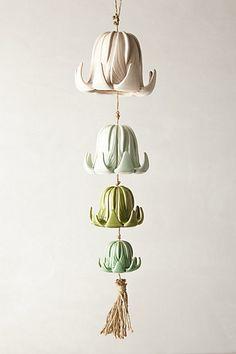 Tea Flower Chimes #anthropologie