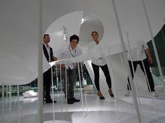 zhangke zao/standardarchitecture 标准营造 Camerich - Interior of 'folding house'
