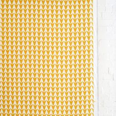 Aldgate East Major- Mustard designed by Lucy Rainbow for Flock.This pattern is ...
