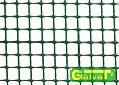 Siatka ogrodzeniowa, plastikowa, oczko 7mm, szerokość 150cm, zielony, 25mb