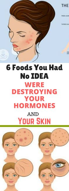 6 Foods You Had No IDEA Were Destroying Your Hormones and Your Skin!!| !!!