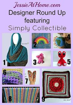 Simply Collectible ~ Crochet Pattern Round Up from Jessie At Home