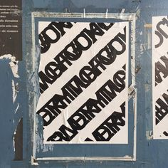 Piccola Bottega della Grafica #typography #censure #city #genova #italy