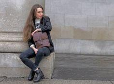 Leather Backpack, Woodland, Backpacks, Lifestyle, Bags, Fashion, Handbags, Moda, Leather Book Bag