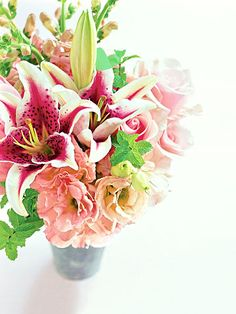 DIY the perfect flower arrangements for a wedding or a tablescape using these classic ideas as inspiration. These mixed-flower bouquets are simple to make for home decor, plus they will be unique compared to flower arrangements you can buy from the store.