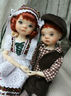 Hansel and Gretel by MeadowDolls