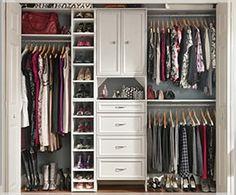 Soluções para o closet