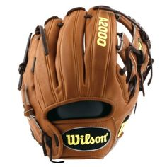 Wilson A2000 DP15GM 11.5 Inch Infield Baseball Glove- Dustin Pedroia game model- the exact glove used by Dustin Pedroia!