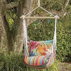Floral Swing Chair Hammock from Ginny's ®