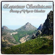 the sardinia mountains of ogliastra