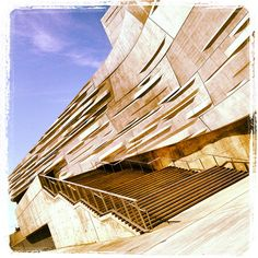 Perot Museum Nature Science Architecture Dallas Texas
