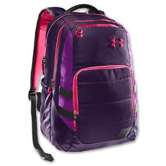 Under Armour Camden Storm Backpack in Pink and Purple