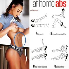 Abs workout to do at home  . #ihotfit #fit #fitness #hotgirls #hot #gym #body #fitnessmotivation #fitnessgirl #fitnessmom #workout #yoga…
